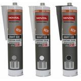 Клей герметик для швов 310 мл.NOVOL Gravit 630 белый под пистолет (туба)