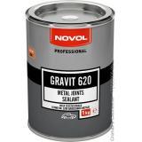 Клей герметик для швов 1кг.NOVOL Gravit 620 для нанесения кисточкой.