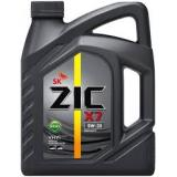 Масло ZIC  5W-30 X7 Diesel 6л син 172610