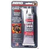 Герметик прокладка ABRO 999 85гр силиконовый серый