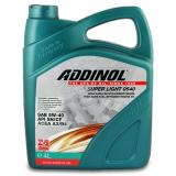 Масло Addinol  5W40 4л.Super Light 0540